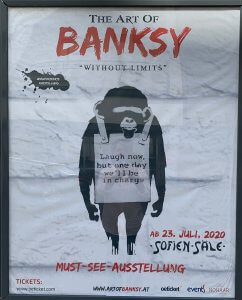 #49plus The Art of Bansky